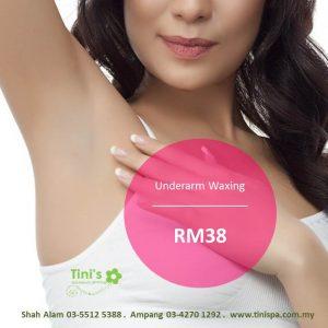 Underarm waxing rm38