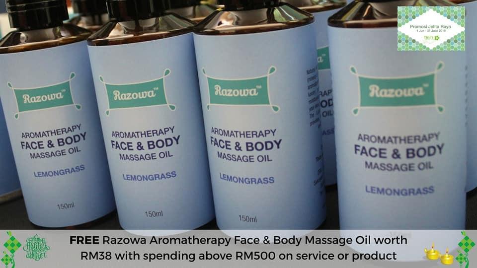 massage oil tinispa