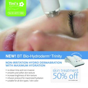 Hydroderm Microdermabrassion Facial Kuala Lumpur - Tini's Spa